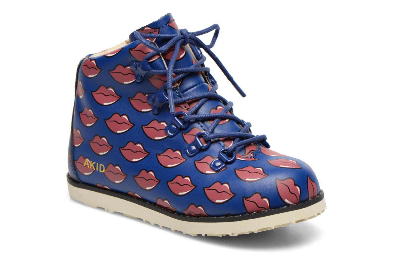Bottines et boots Akid Jasper Bleu vue détail/paire