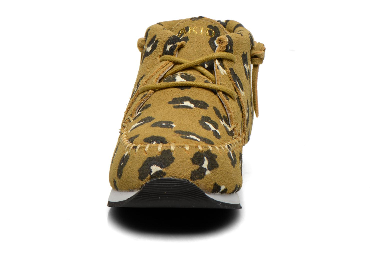 Sneaker Akid Stone grün schuhe getragen