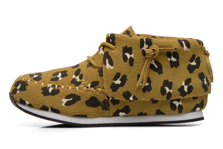 Sneaker Akid Stone grün ansicht von vorne