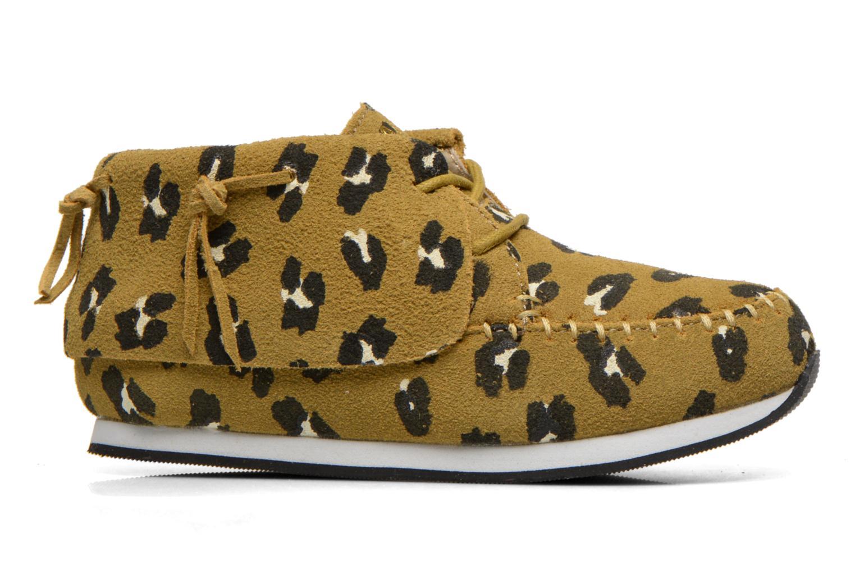 Sneaker Akid Stone grün ansicht von hinten