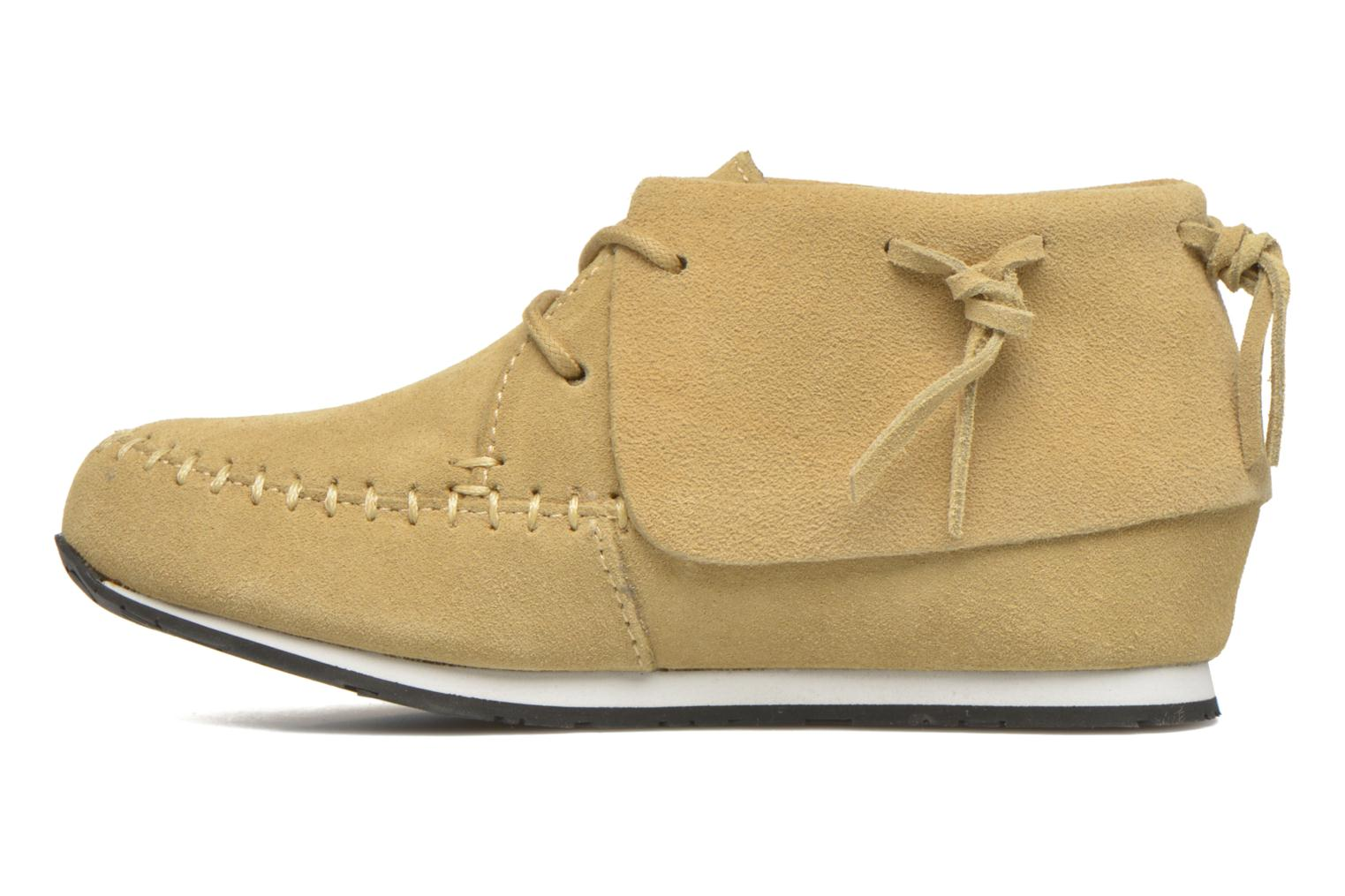 Sneakers Akid Stone Beige se forfra
