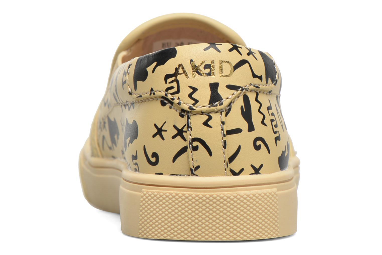 Sneaker Akid Liv beige ansicht von rechts