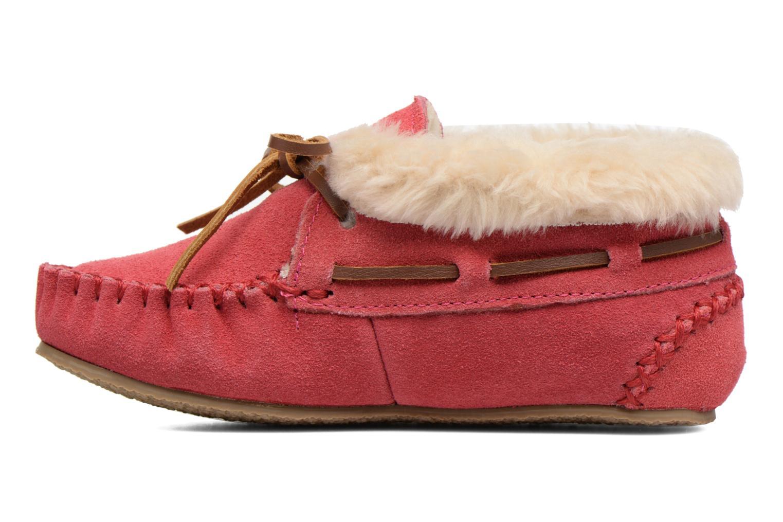 Stiefeletten & Boots Minnetonka Charley rosa ansicht von vorne