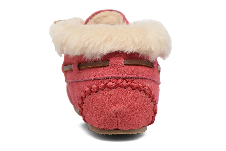 Stiefeletten & Boots Minnetonka Charley rosa ansicht von rechts