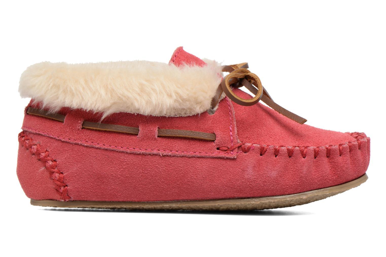 Stiefeletten & Boots Minnetonka Charley rosa ansicht von hinten