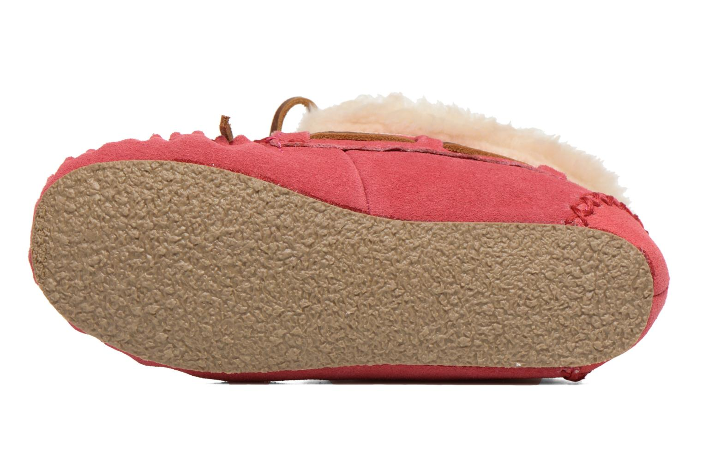 Stiefeletten & Boots Minnetonka Charley rosa ansicht von oben