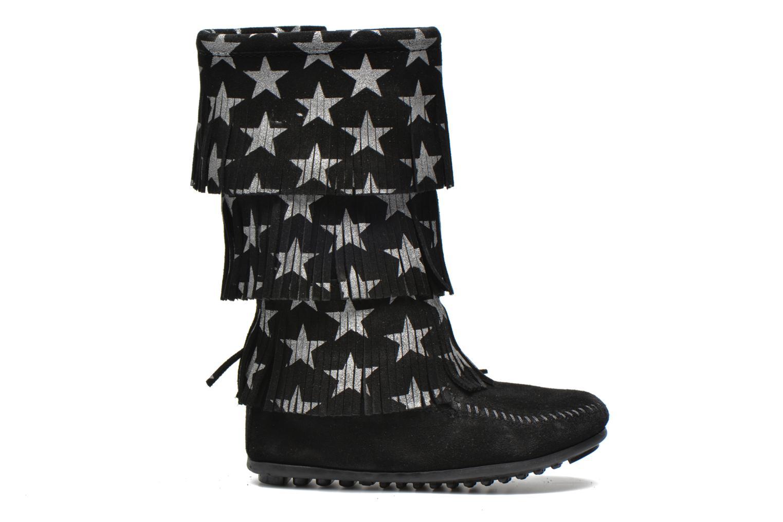 Laarzen Minnetonka Star 3 Layer Zwart achterkant