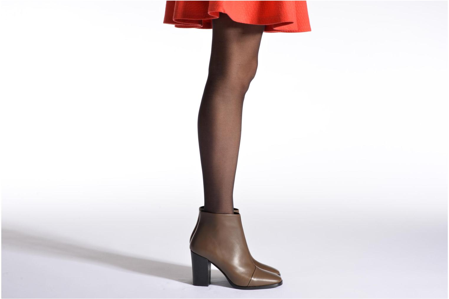 Ankle boots Rebecca Balducci 5023 Brown view from underneath / model view