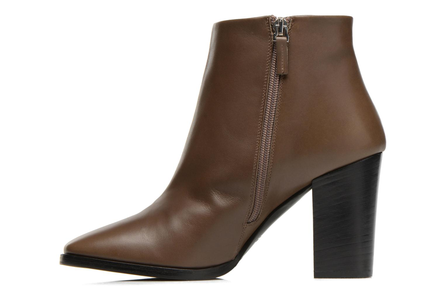 Ankle boots Rebecca Balducci 5023 Brown front view