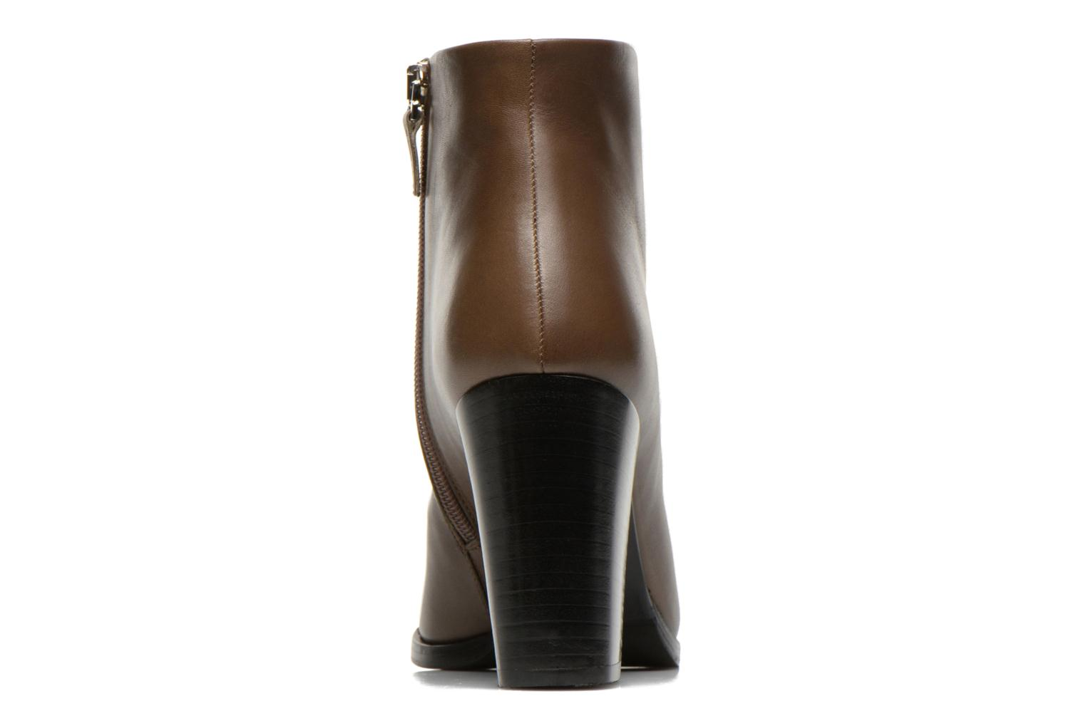Ankle boots Rebecca Balducci 5023 Brown view from the right