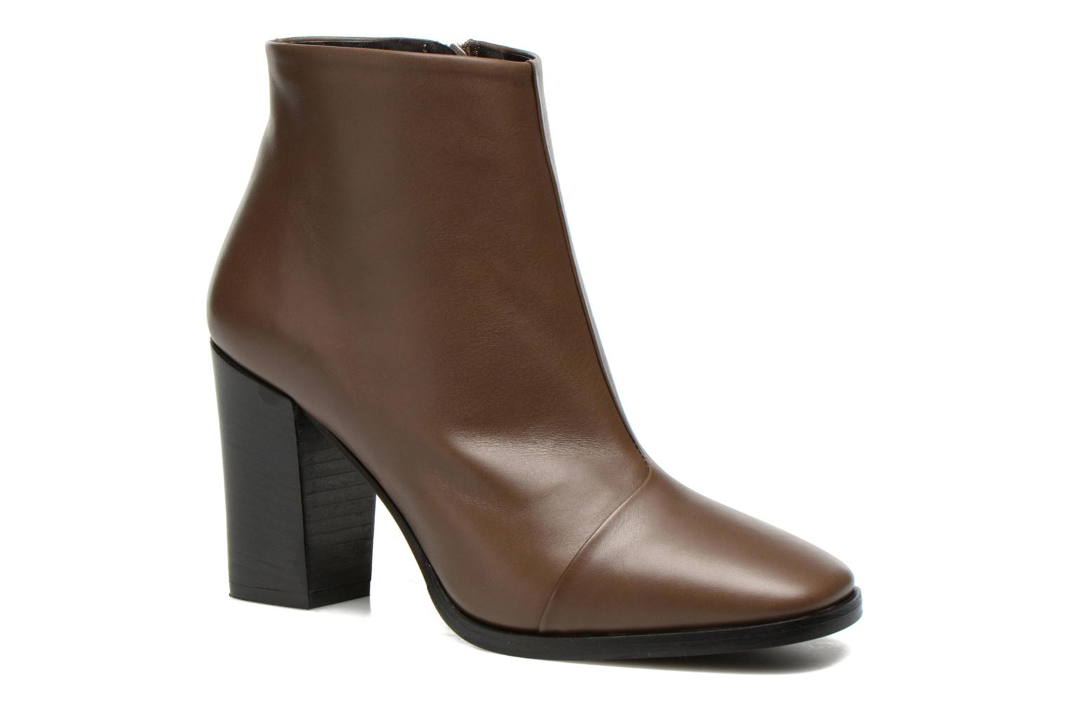 Ankle boots Rebecca Balducci 5023 Brown detailed view/ Pair view