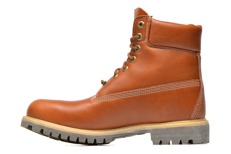 Bottines et boots Timberland AF 6IN PREM BT Marron vue face