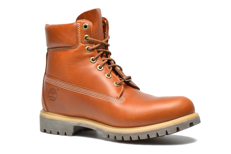 Bottines et boots Timberland AF 6IN PREM BT Marron vue détail/paire
