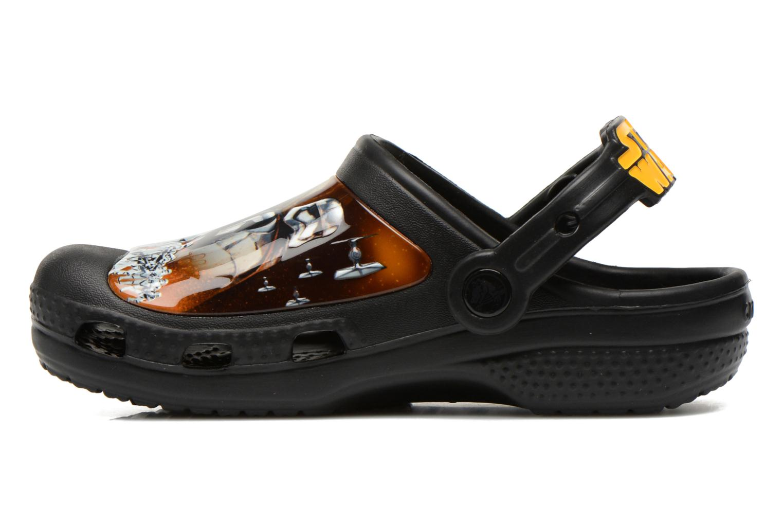 Sandalen Crocs CC The Force Awakens Clog K schwarz ansicht von vorne
