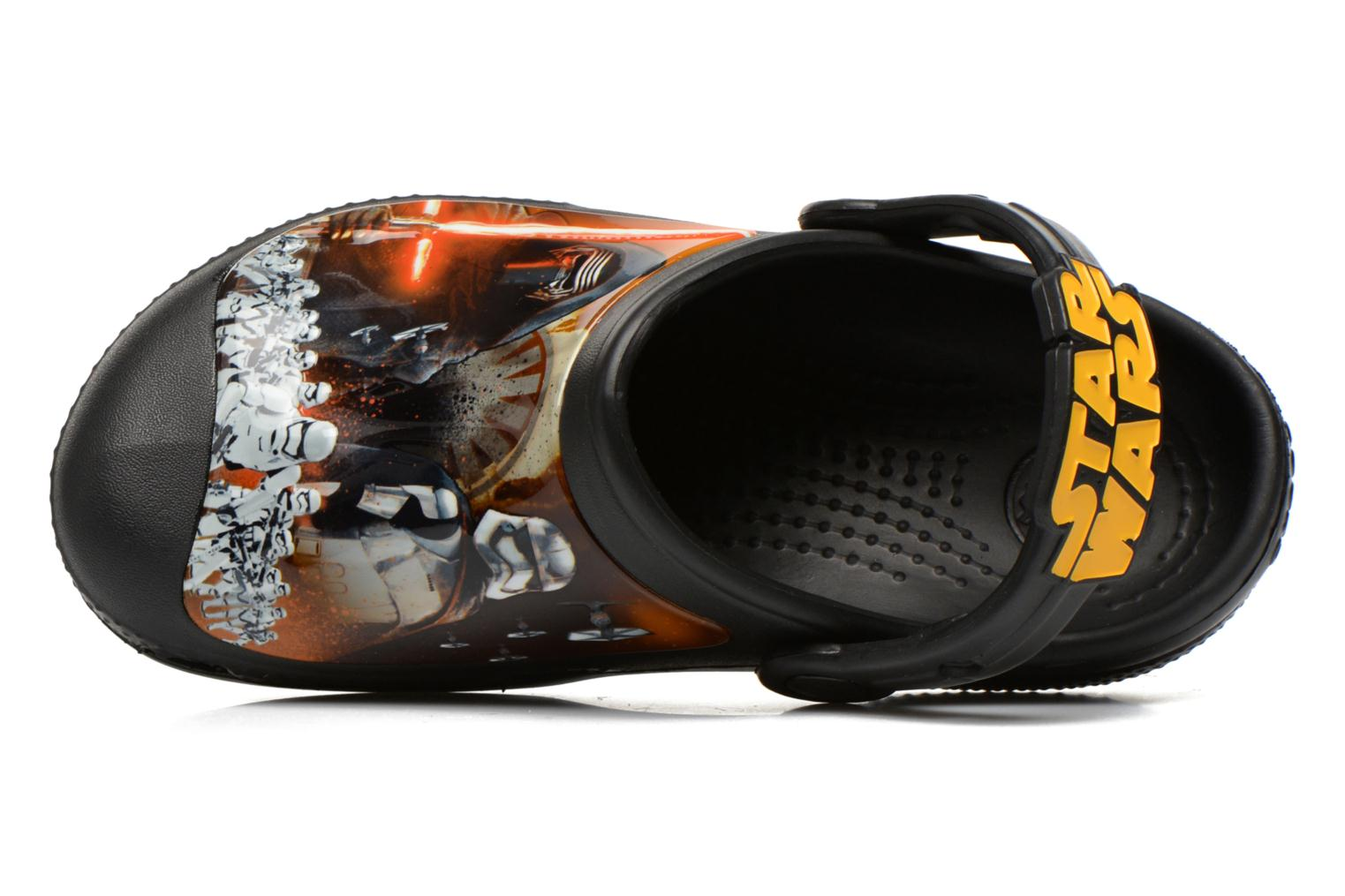 Sandals Crocs CC The Force Awakens Clog K Black view from the left