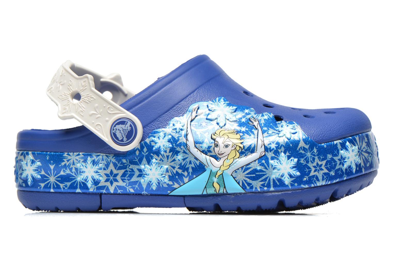 Sandales et nu-pieds Crocs CrocsLights Frozen Clog K Bleu vue derrière