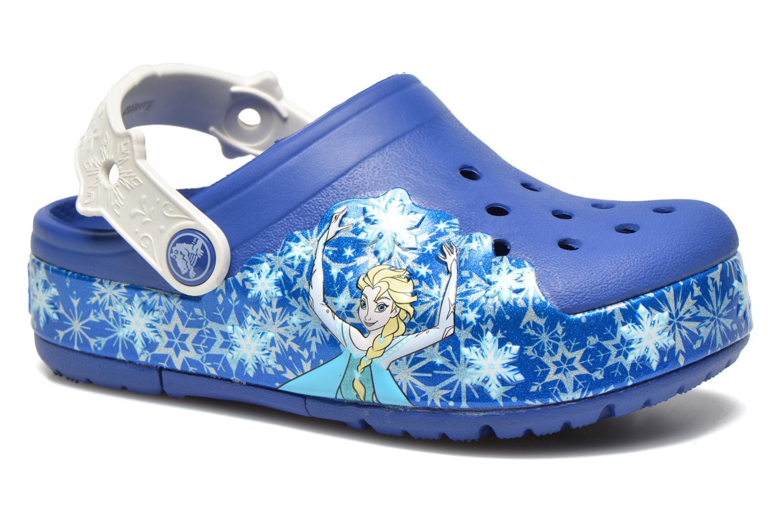 Sandalias Crocs CrocsLights Frozen Clog K Azul vista de detalle / par