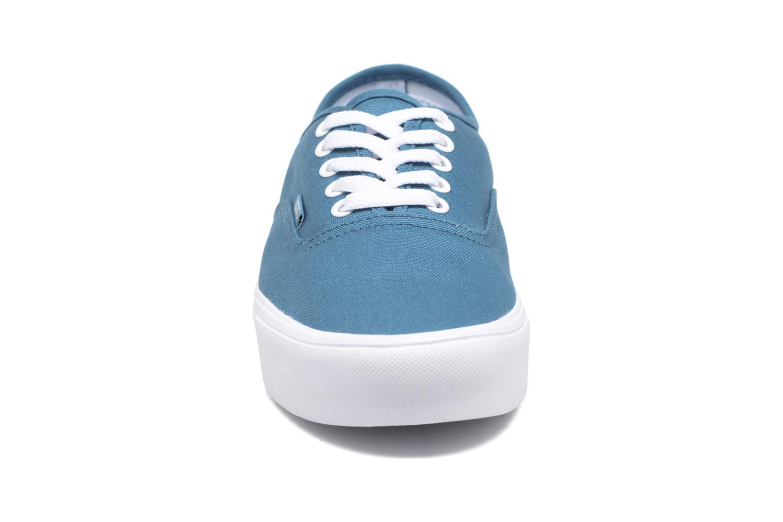 Baskets Vans Authentic Lite Bleu vue portées chaussures