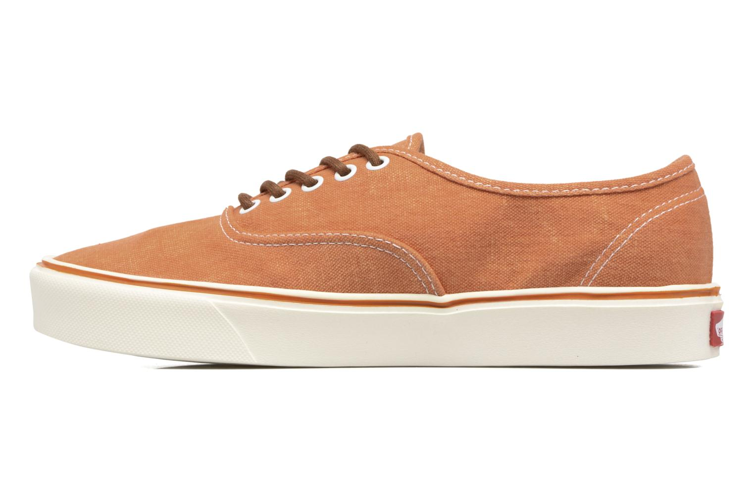 Baskets Vans Authentic Lite Orange vue face