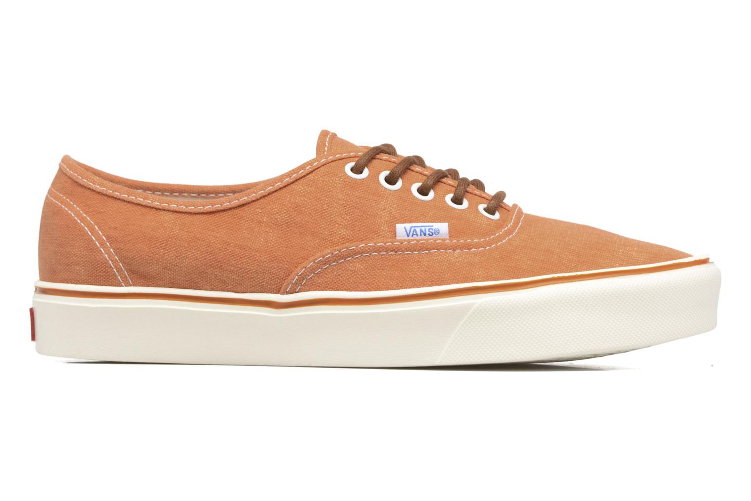 Baskets Vans Authentic Lite Orange vue derrière