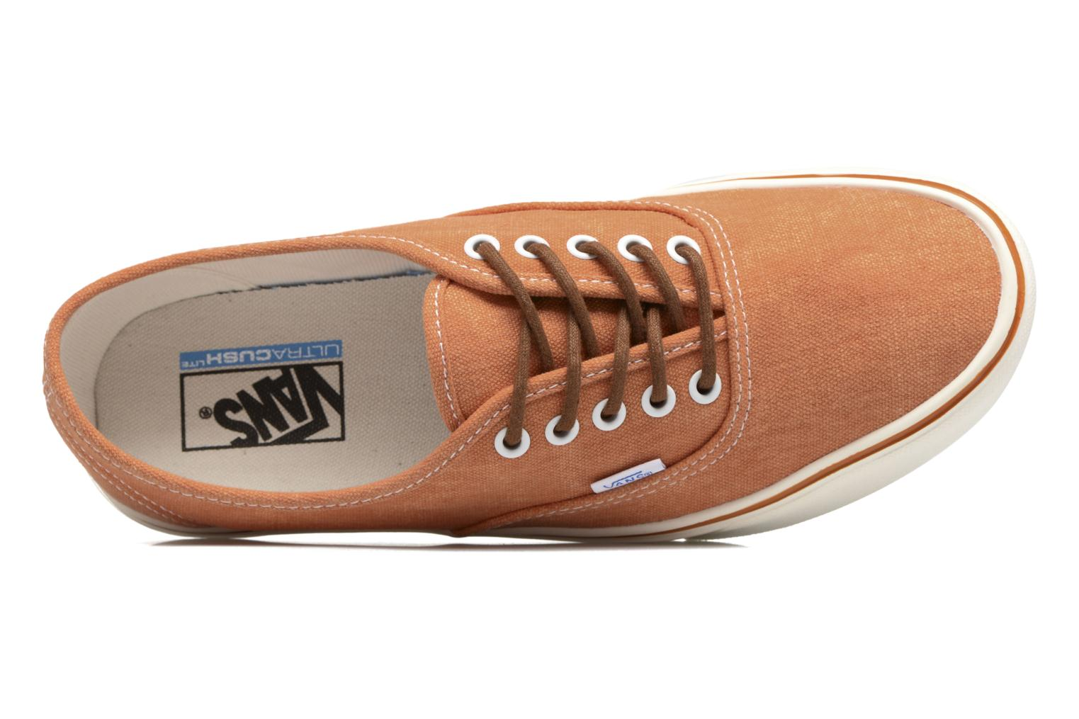 Baskets Vans Authentic Lite Orange vue gauche
