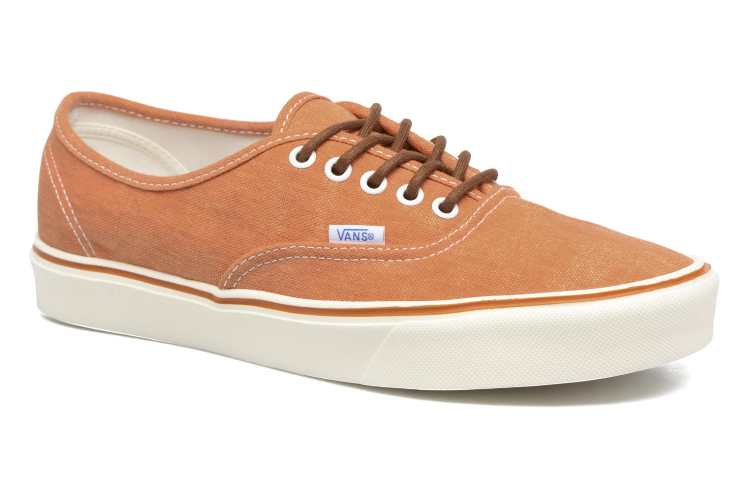 Baskets Vans Authentic Lite Orange vue détail/paire