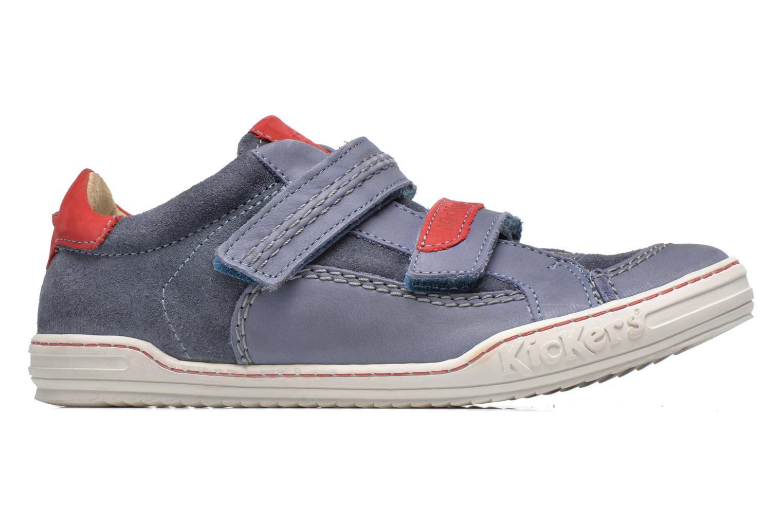 Scarpe con gli strappi Kickers JIUKID Azzurro immagine posteriore