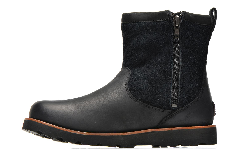 Bottines et boots UGG Hendren Noir vue face