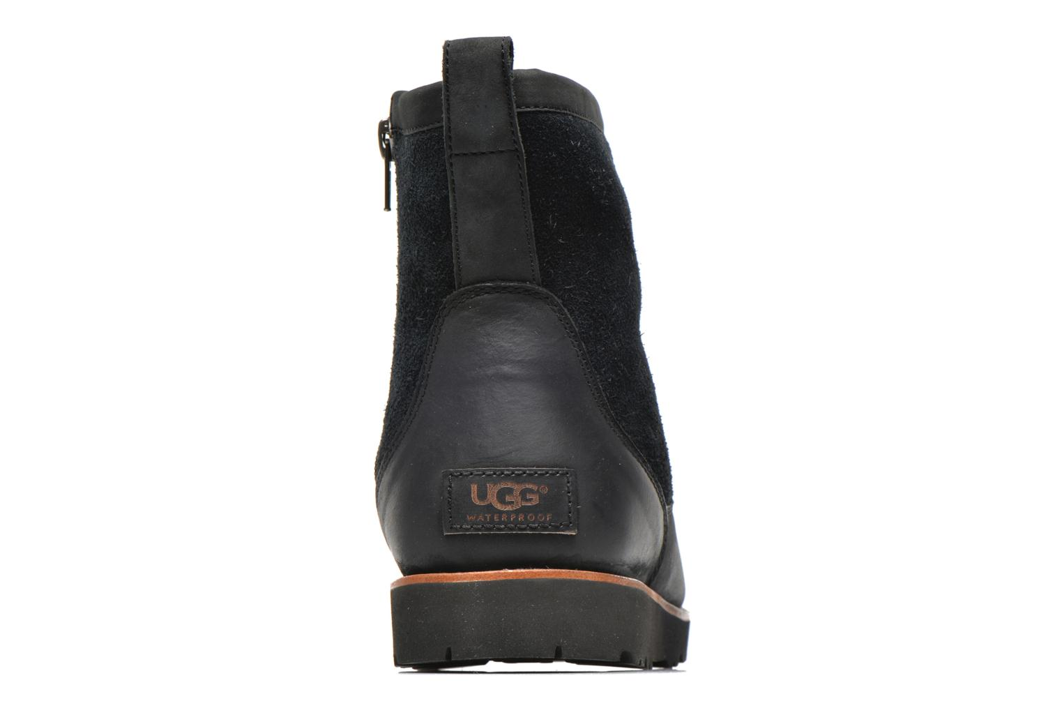 Ankle boots UGG Hendren Black view from the right
