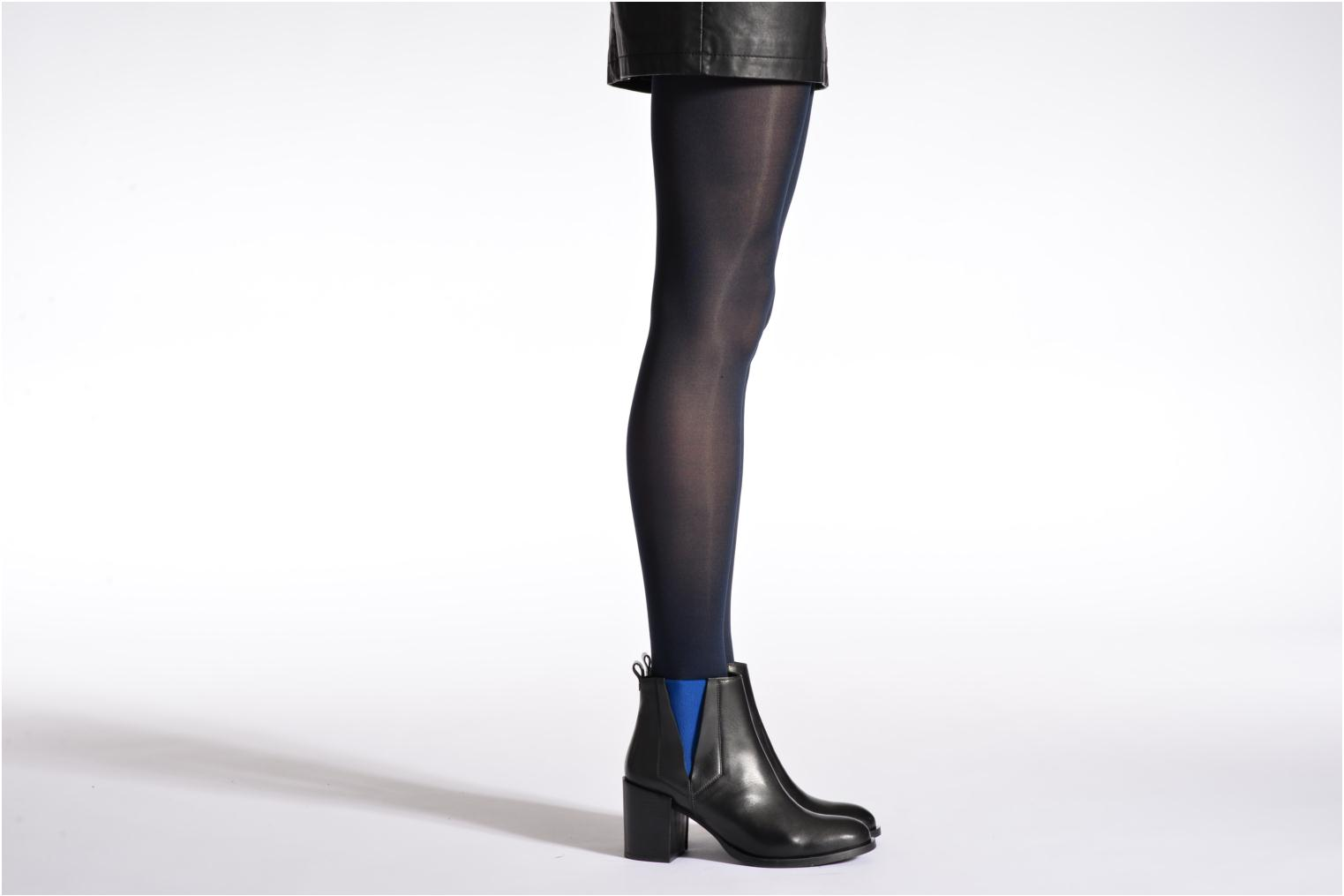 Tights soft touch Marine