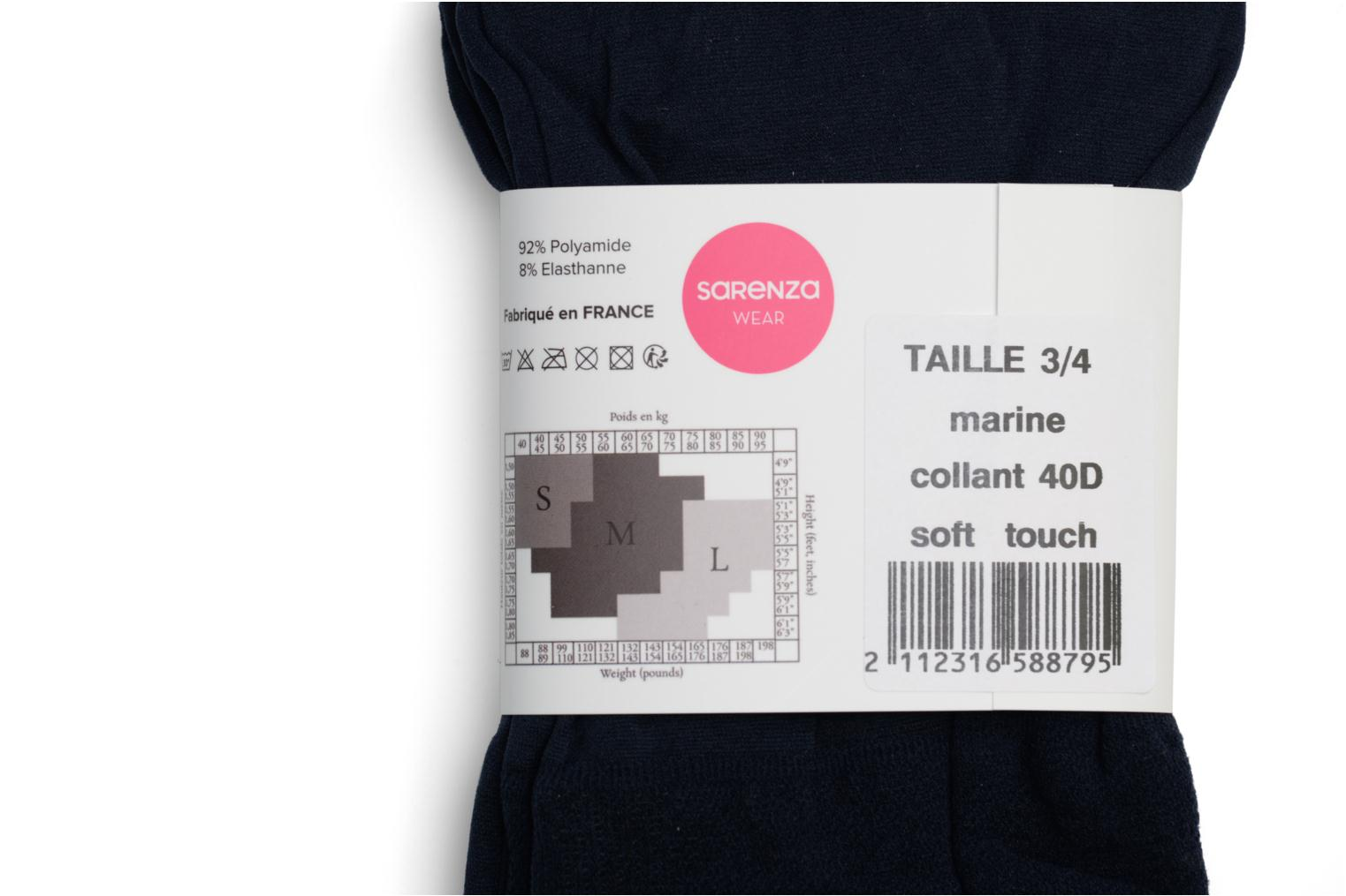 Collant soft touch Marine