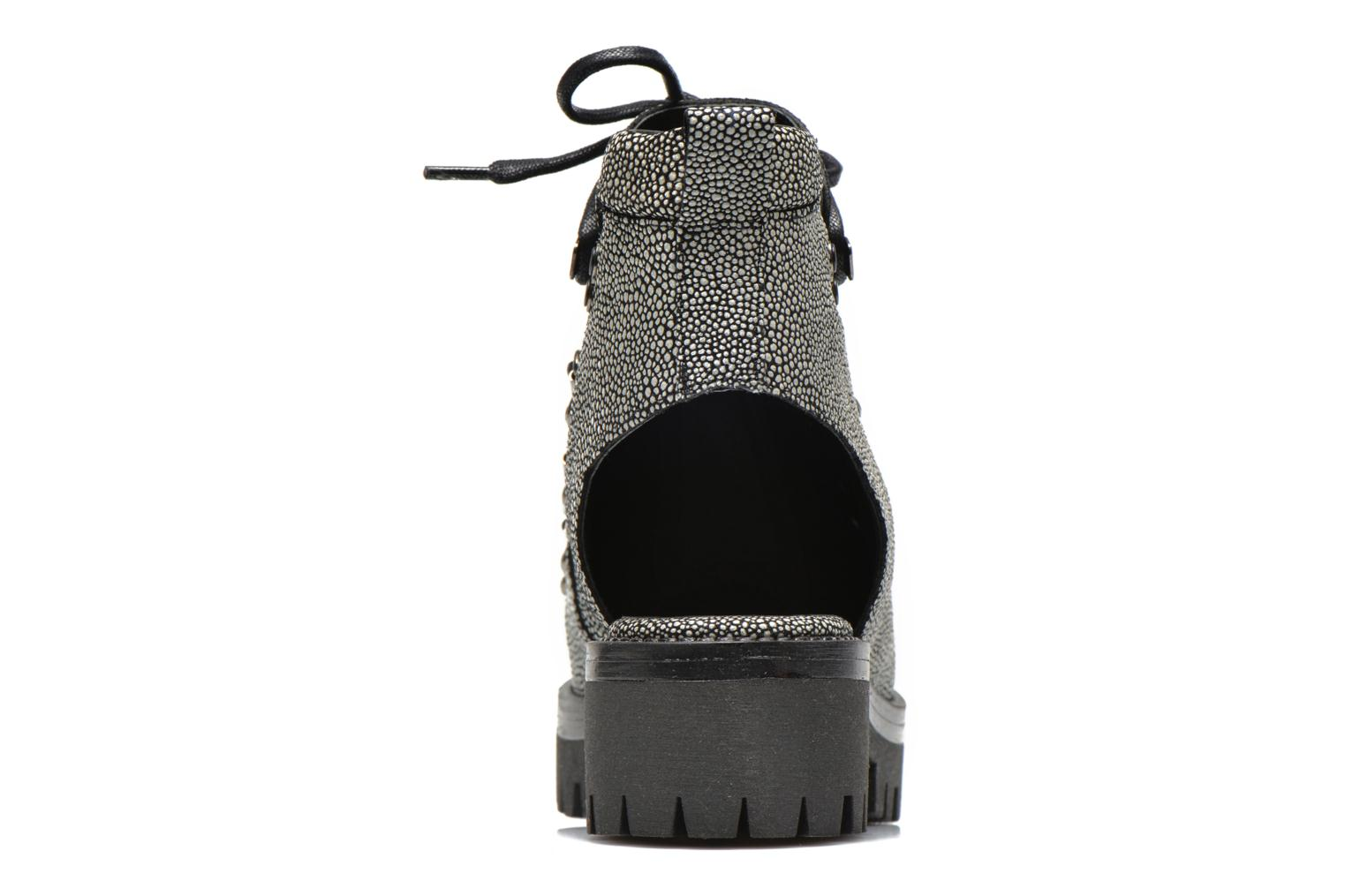 Ankle boots Intentionally blank Tharp Grey view from the right