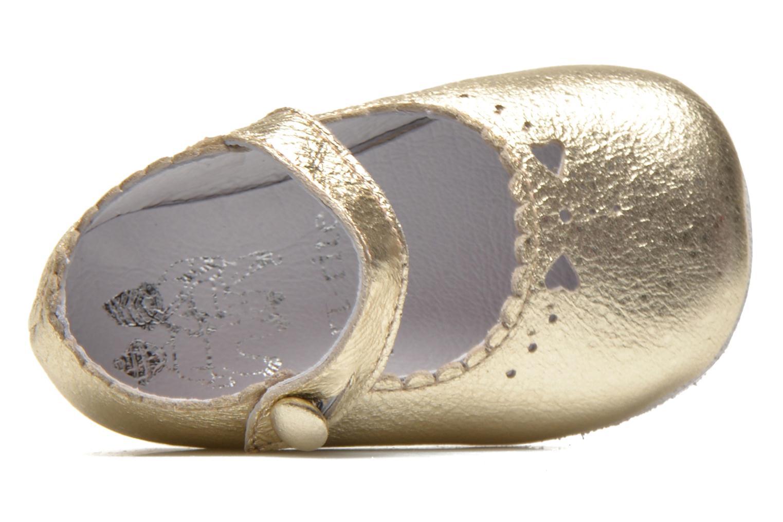 Pantoffels Start Rite Baby Elizabeth Goud en brons links