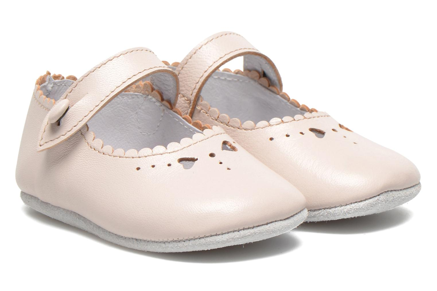 Baby Elizabeth Pink Leather