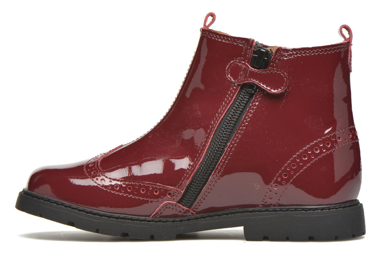 Bottines et boots Start Rite Chelsea Bordeaux vue face