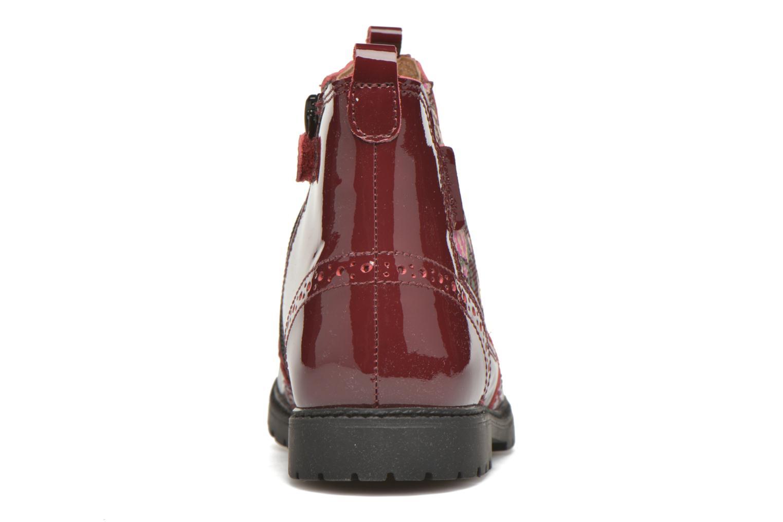 Bottines et boots Start Rite Chelsea Bordeaux vue droite
