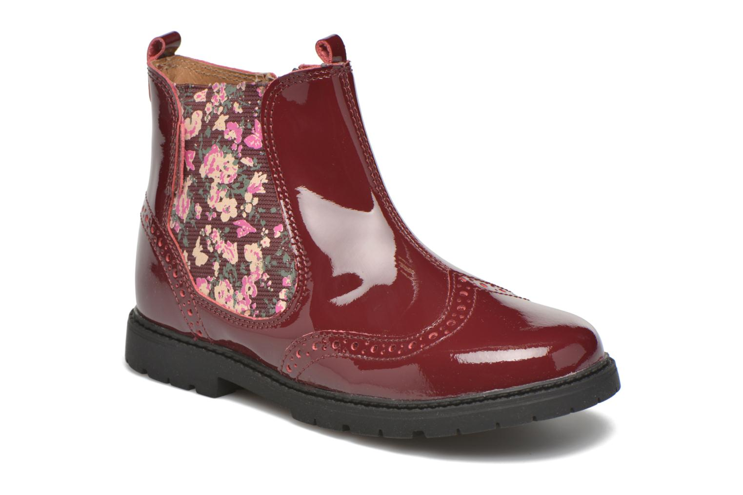 Ankle boots Start Rite Chelsea Burgundy detailed view/ Pair view