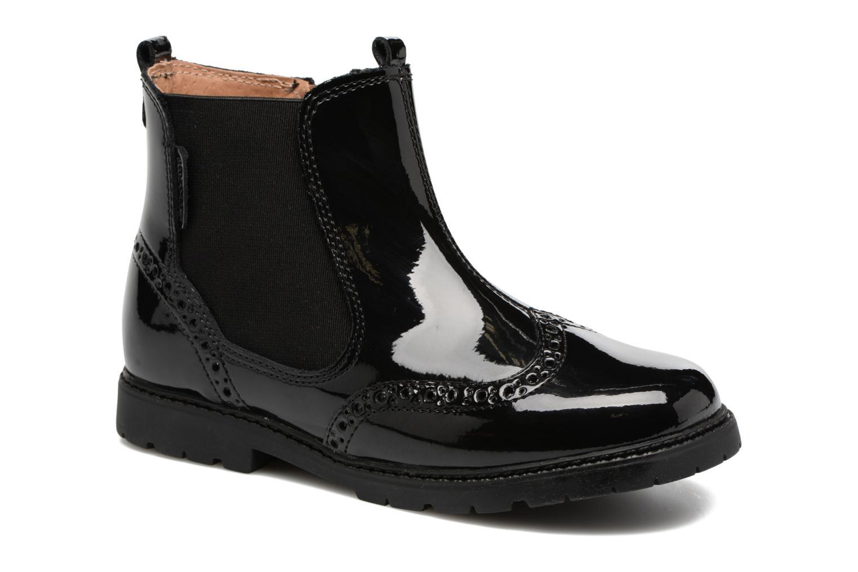 Ankelstøvler Start Rite Chelsea Sort detaljeret billede af skoene