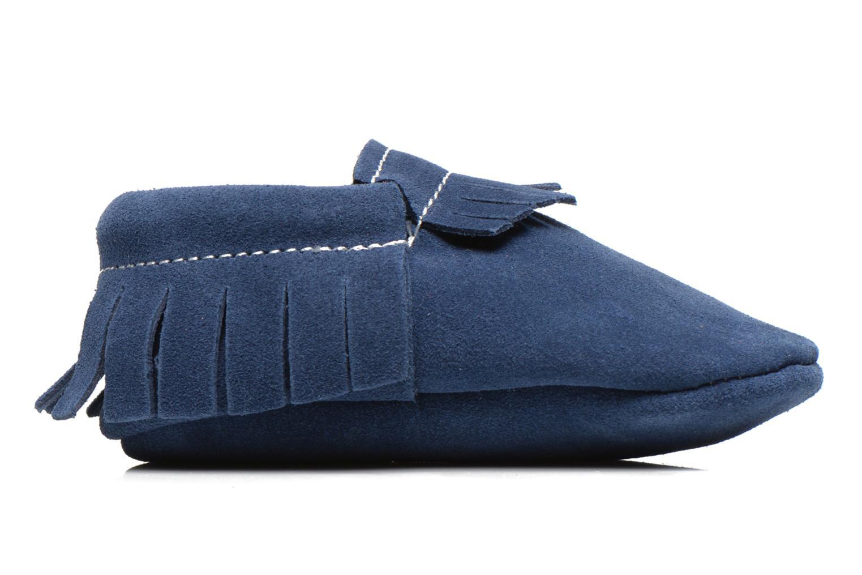 Pantoffels Hippie Ya Mocassins Daim Blauw achterkant