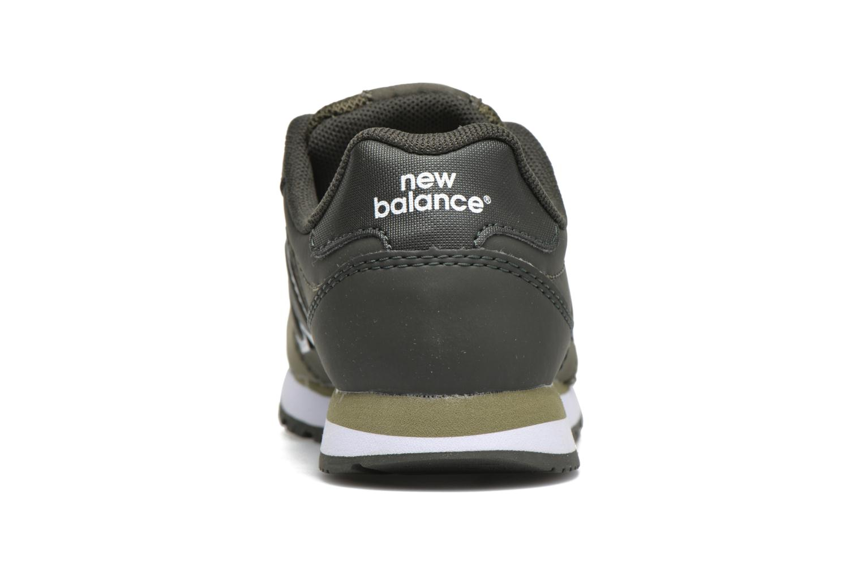 Baskets New Balance KV500 Vert vue droite