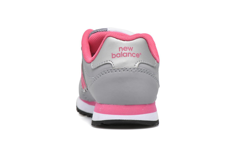 Sneaker New Balance KV500 grau ansicht von rechts