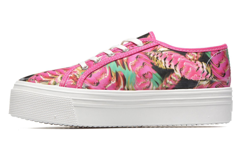 Sneaker Les Tropéziennes par M Belarbi Samba rosa ansicht von vorne