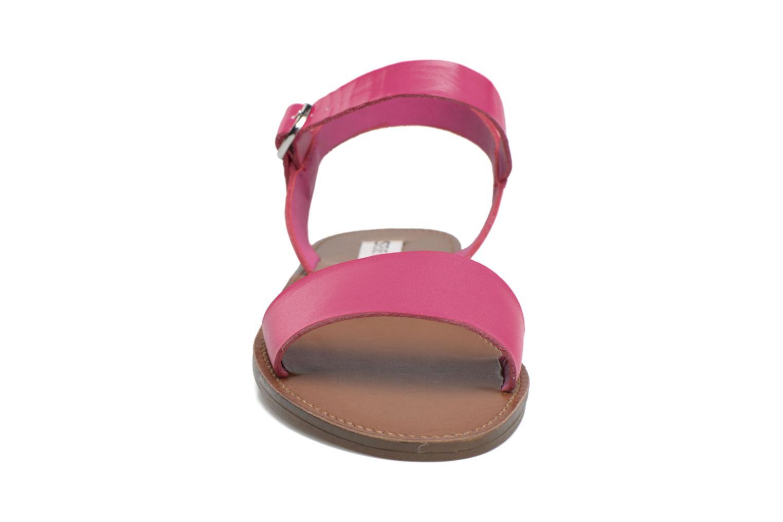 Sandales et nu-pieds Steve Madden Donddi Rose vue portées chaussures