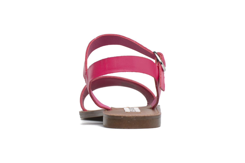 Sandalen Steve Madden Donddi rosa ansicht von vorne