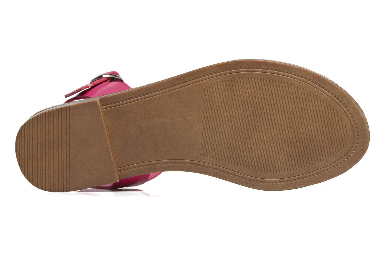 Sandales et nu-pieds Steve Madden Donddi Rose vue haut