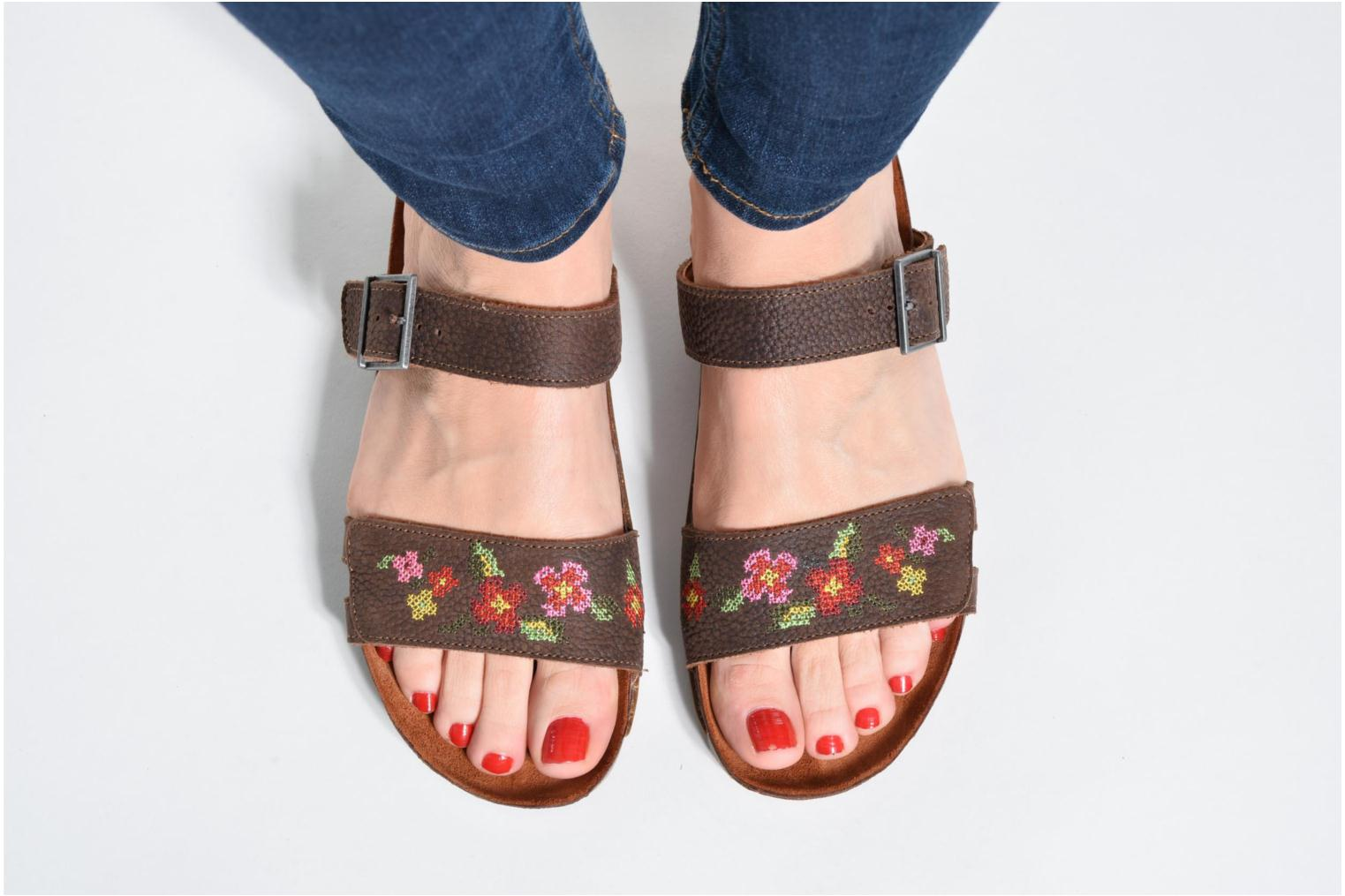 Mules & clogs Art I Breathe 978 Pink view from underneath / model view