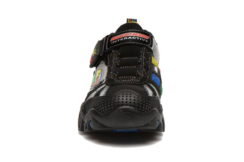 Baskets Skechers Damager II Game Kicks Noir vue portées chaussures
