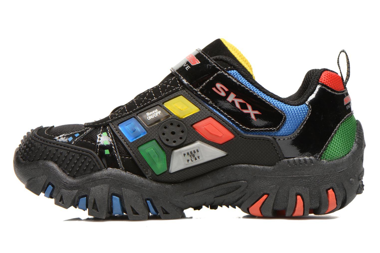 Sneaker Skechers Damager II Game Kicks schwarz ansicht von vorne
