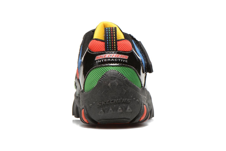 Sneaker Skechers Damager II Game Kicks schwarz ansicht von rechts