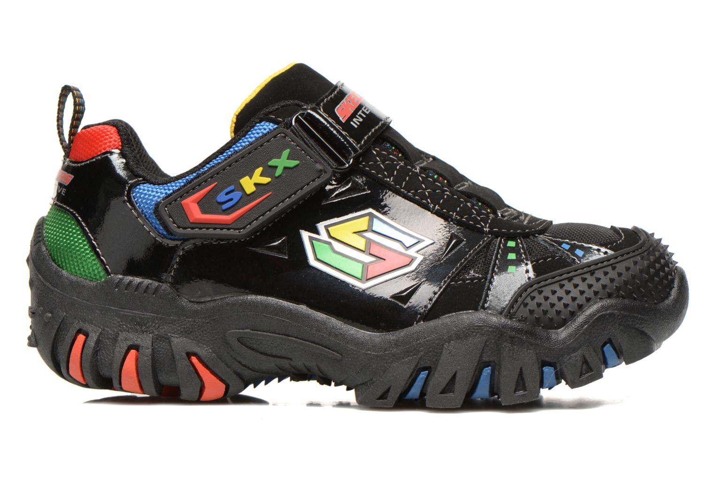 Sneaker Skechers Damager II Game Kicks schwarz ansicht von hinten